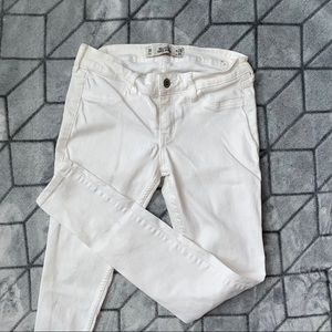 Hollister White Skinny Jeans